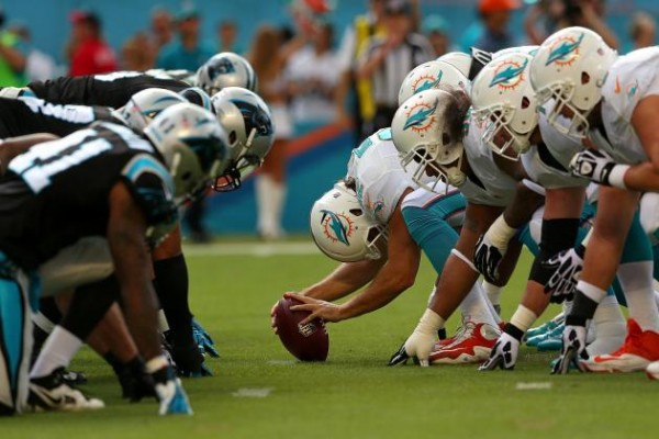 Miami Dolphins vs. Carolina Panthers