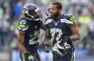 Michael Bennett and Richard Sherman