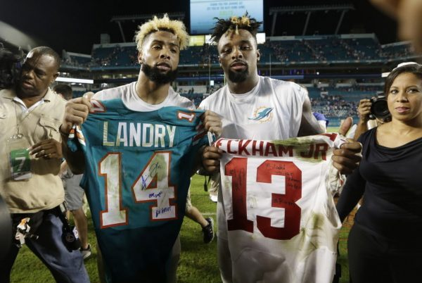 Jarvis Landry and Odell Beckham Jr