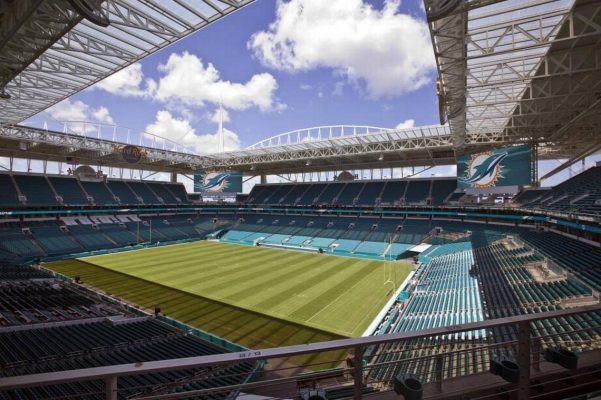 Hard Rock Stadium Empty