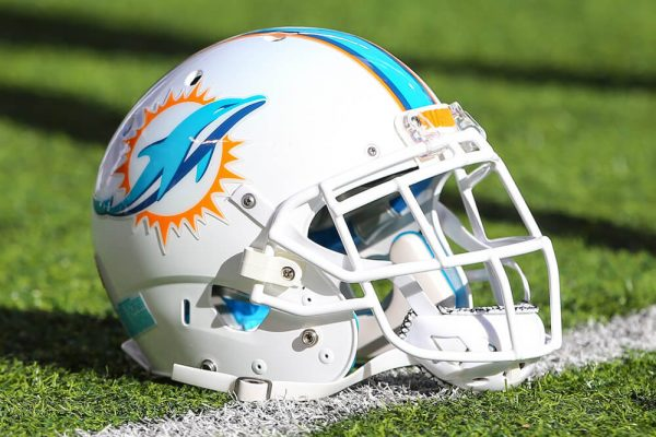 Miami Dolphins Helmet - Saturday Cuts