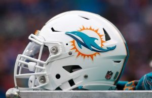 Miami Dolphins Helmet - Friday Cuts