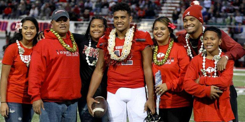 Tua Tagovailoa's Family