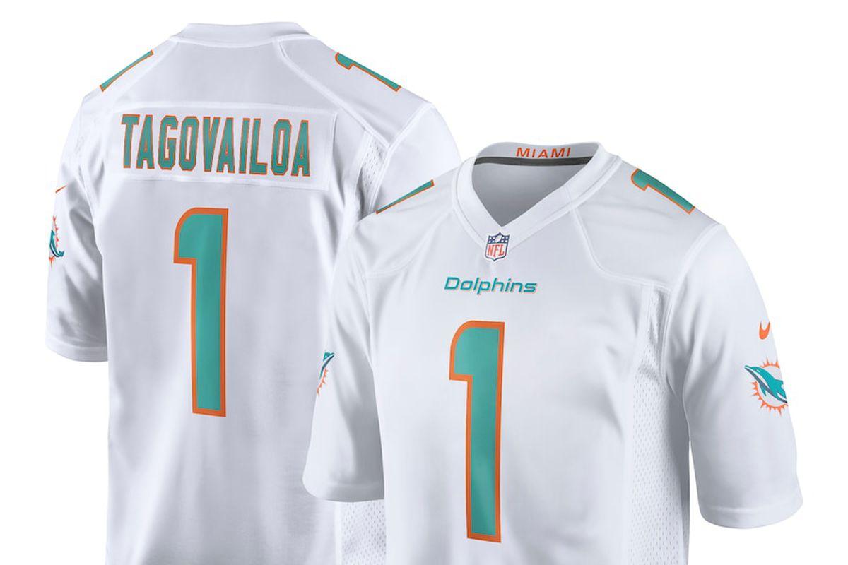 Tua Tagovailoa Miami Dolphins Jersey