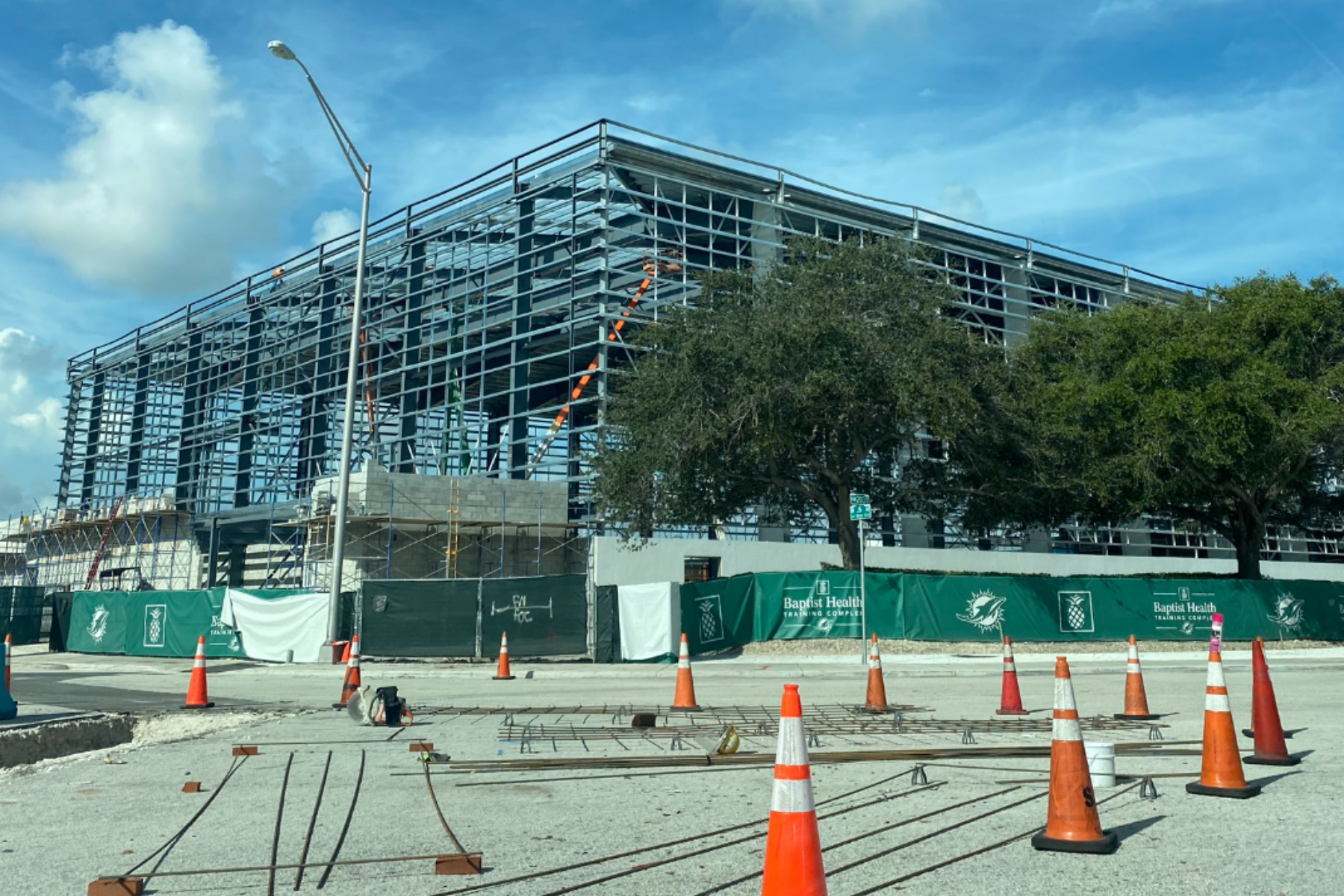 Miami Dolphins New Practice Facility