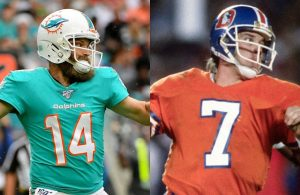 Ryan Fitzpatrick and John Elway