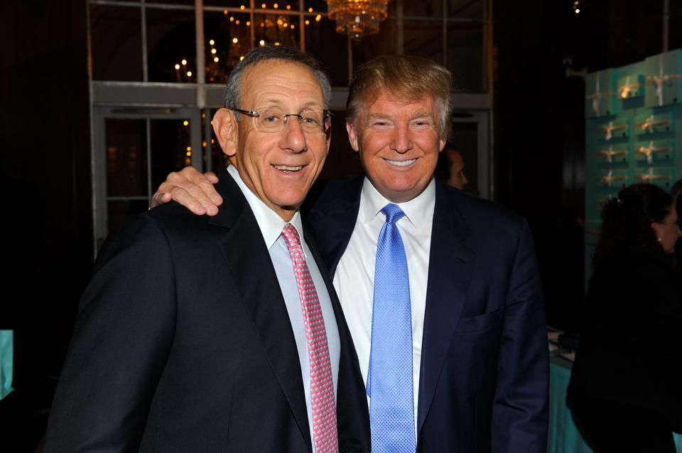 Stephen Ross and Donald Trump