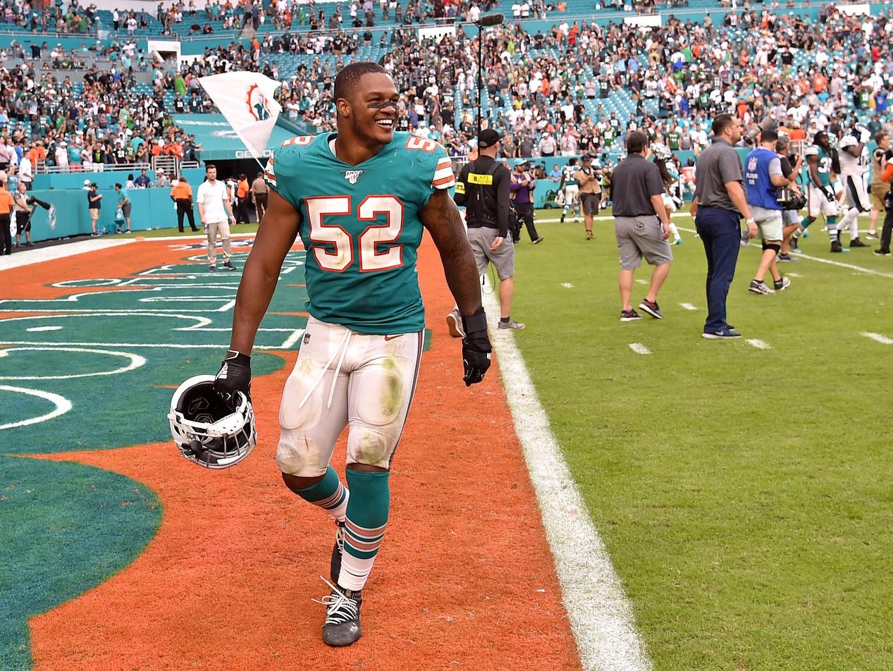 Raekwon McMillan Miami Dolphins