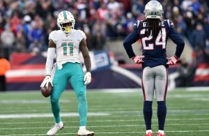 DeVante Parker and Stephon Gilmore