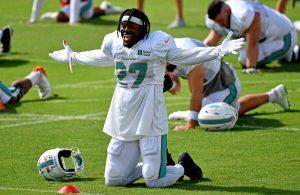 Kalen Ballage Miami Dolphins