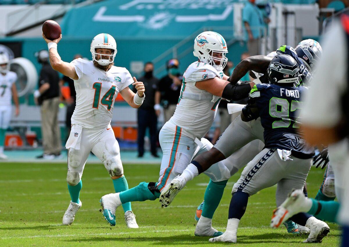Ryan Fitzpatrick Miami Dolphins