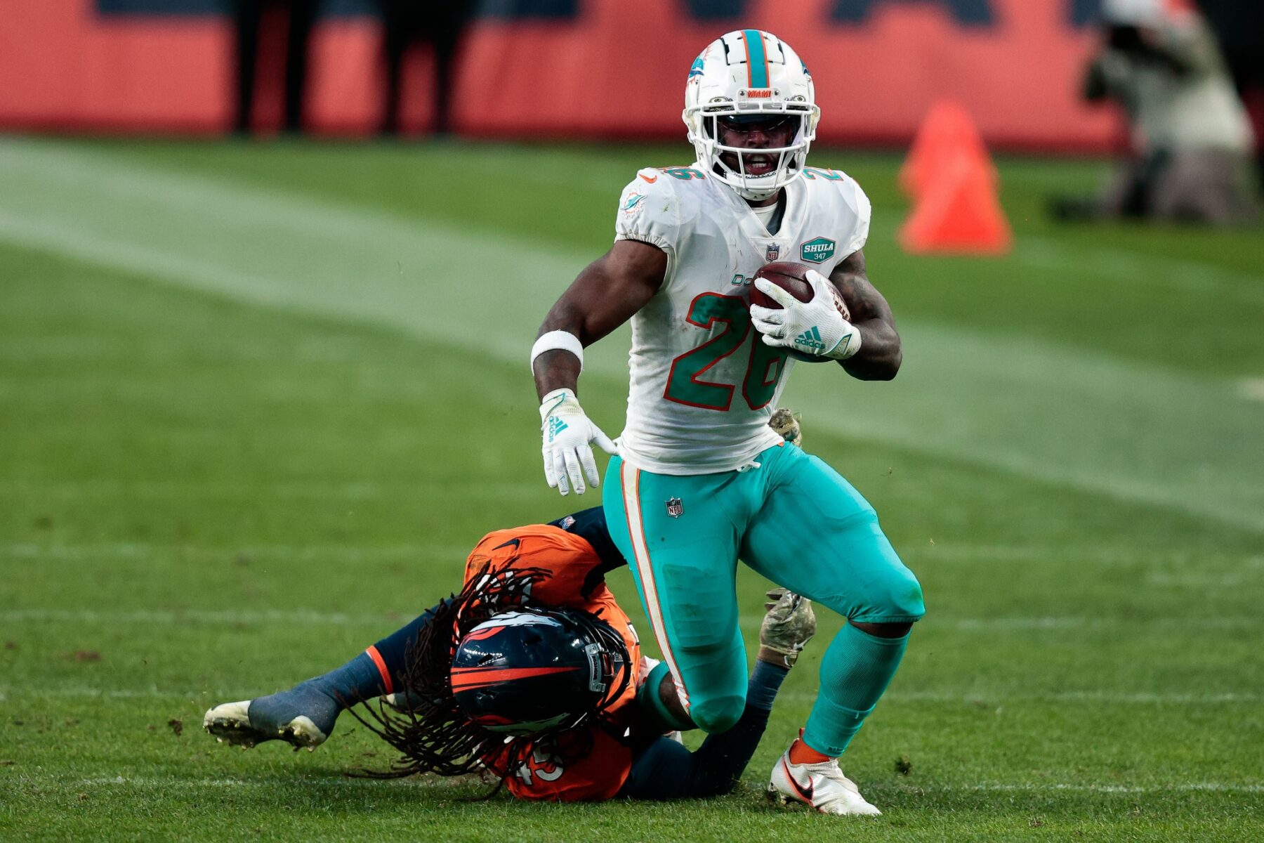 Salvon Ahmed Miami Dolphins
