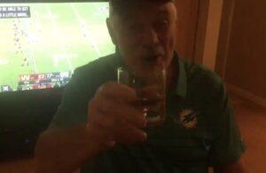Larry Csonka Miami Dolphins