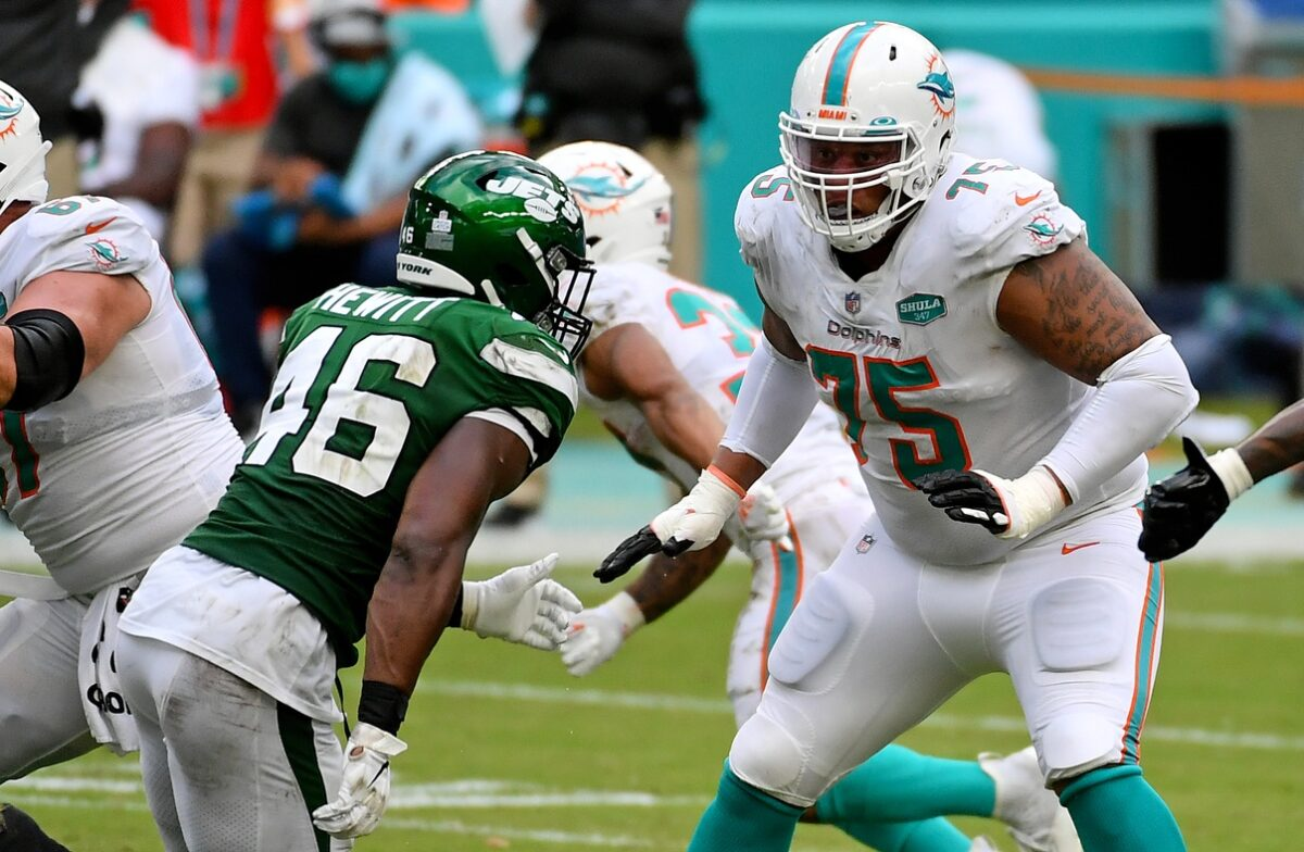 Ereck Flowers Miami Dolphins