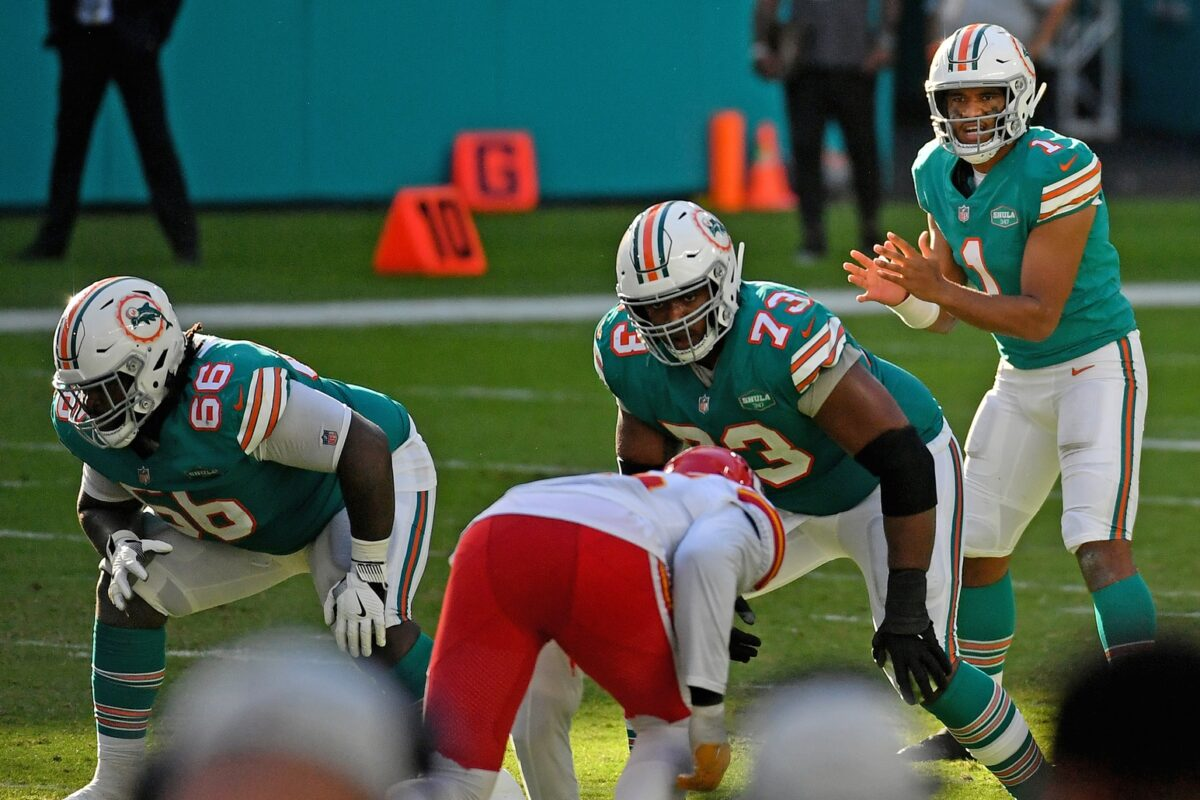 Solomon Kindley Miami Dolphins