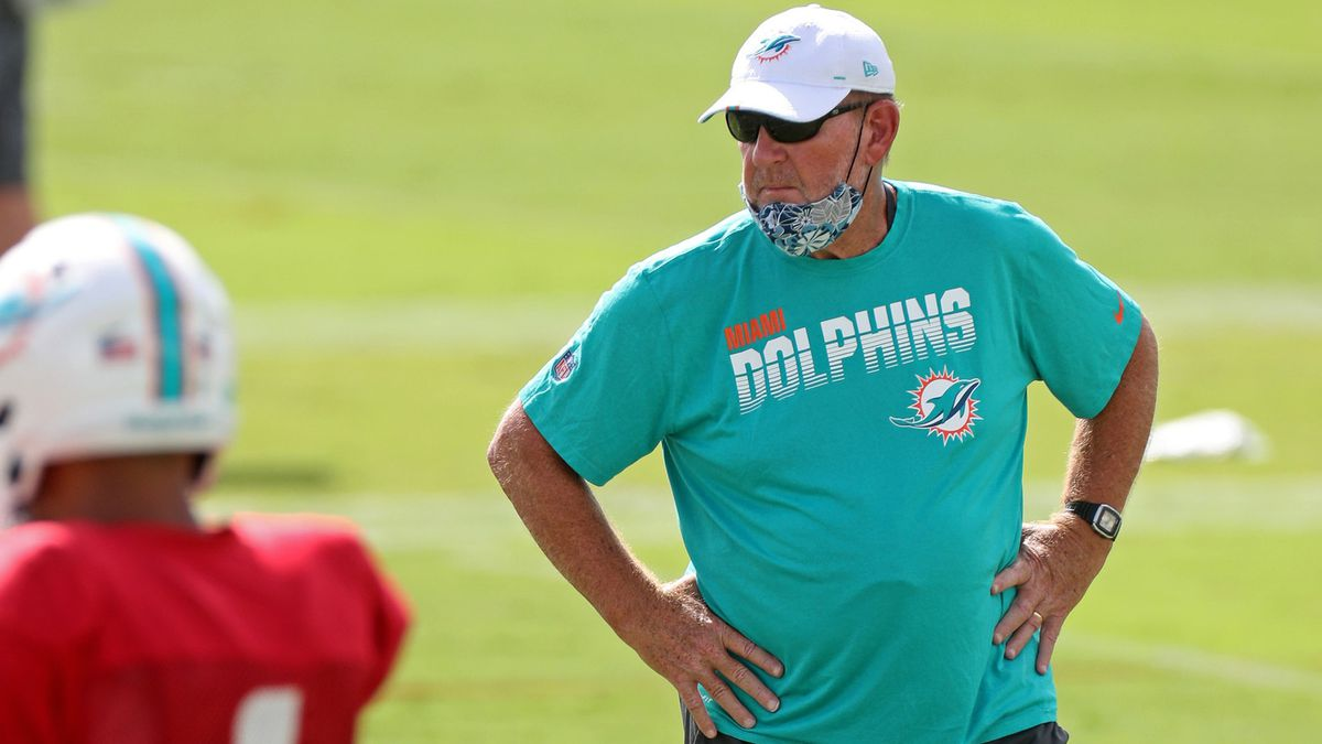 Chan Gailey Miami Dolphins
