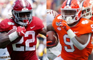 Najee Harris and Travis Etienne