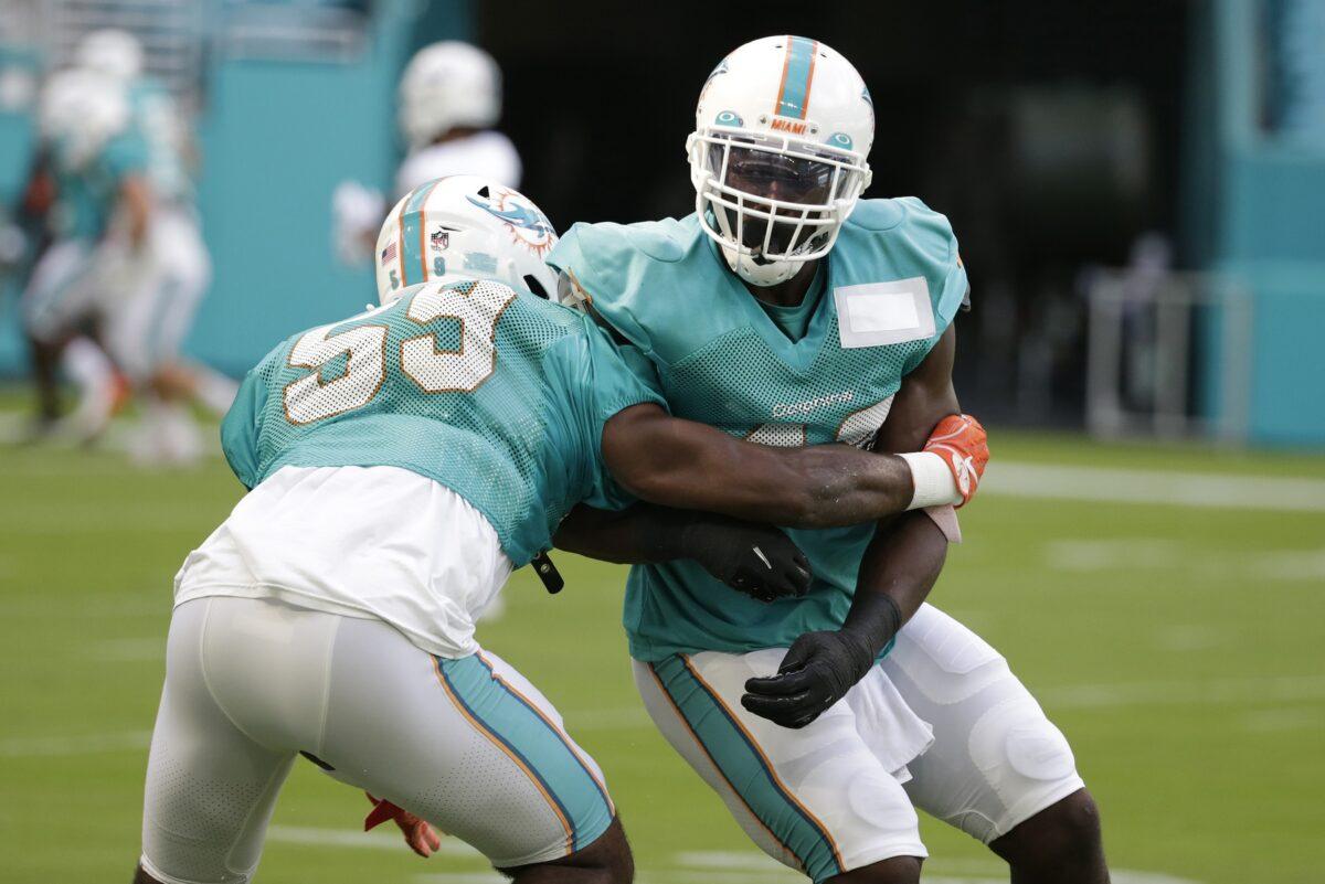 Kylan Johnson Miami Dolphins
